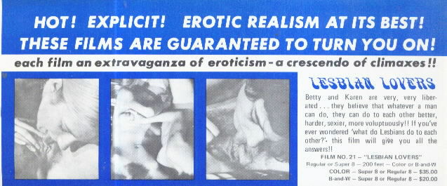 HOT! EXPLICIT! Erotic Realism at its Best! Film Advert