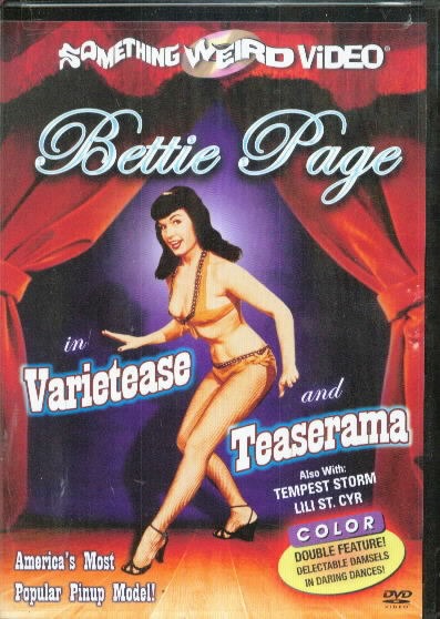 BETTIE PAGE TEASERAMA