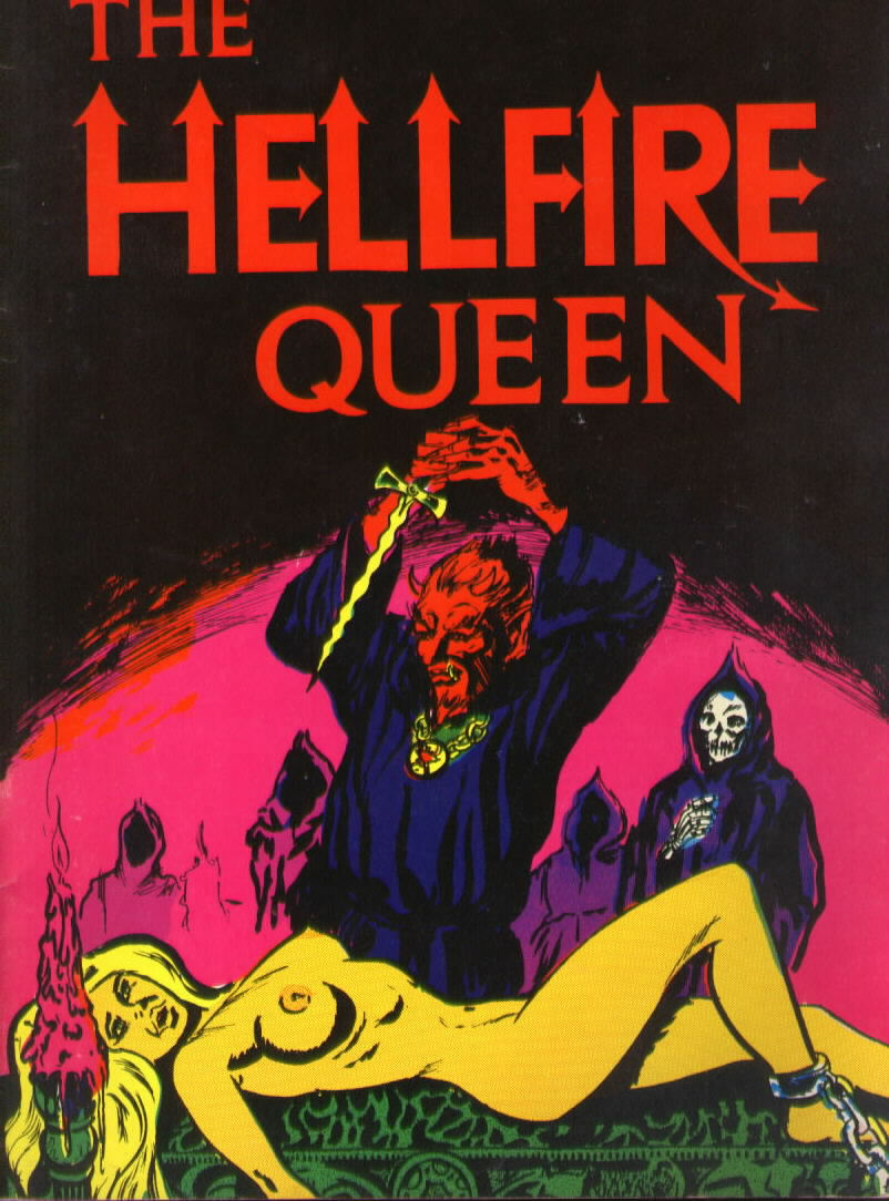 THE HELLFIRE QUEEN Argyle Books (1974)