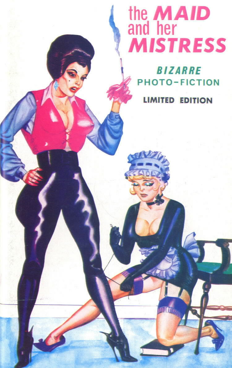 THE MAID AND HER MISTRESS (photo book with Bilbrew artwork on cover)