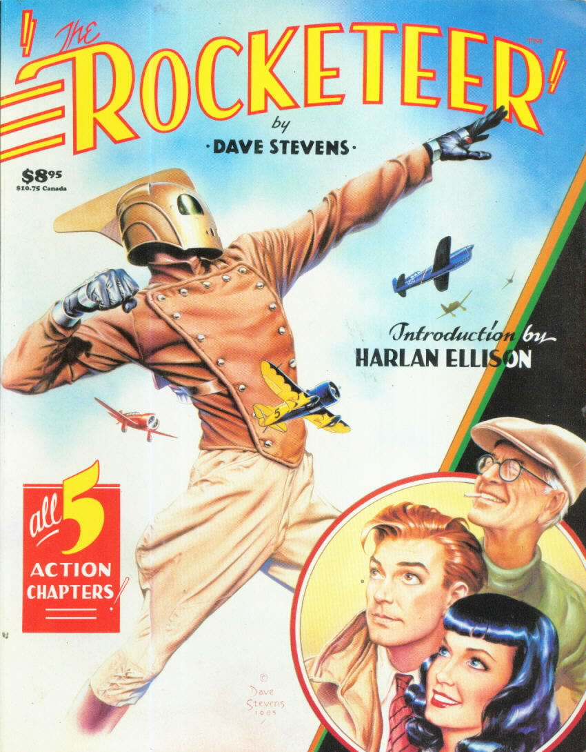 THE ROCKETEER by Dave Stevens with an Introduction by Harlan Ellison