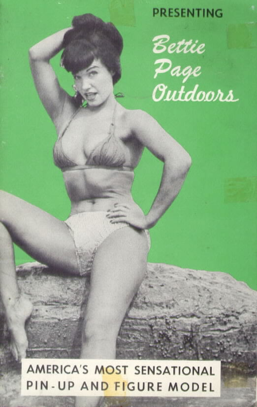 BETTIE PAGE OUTDOORS