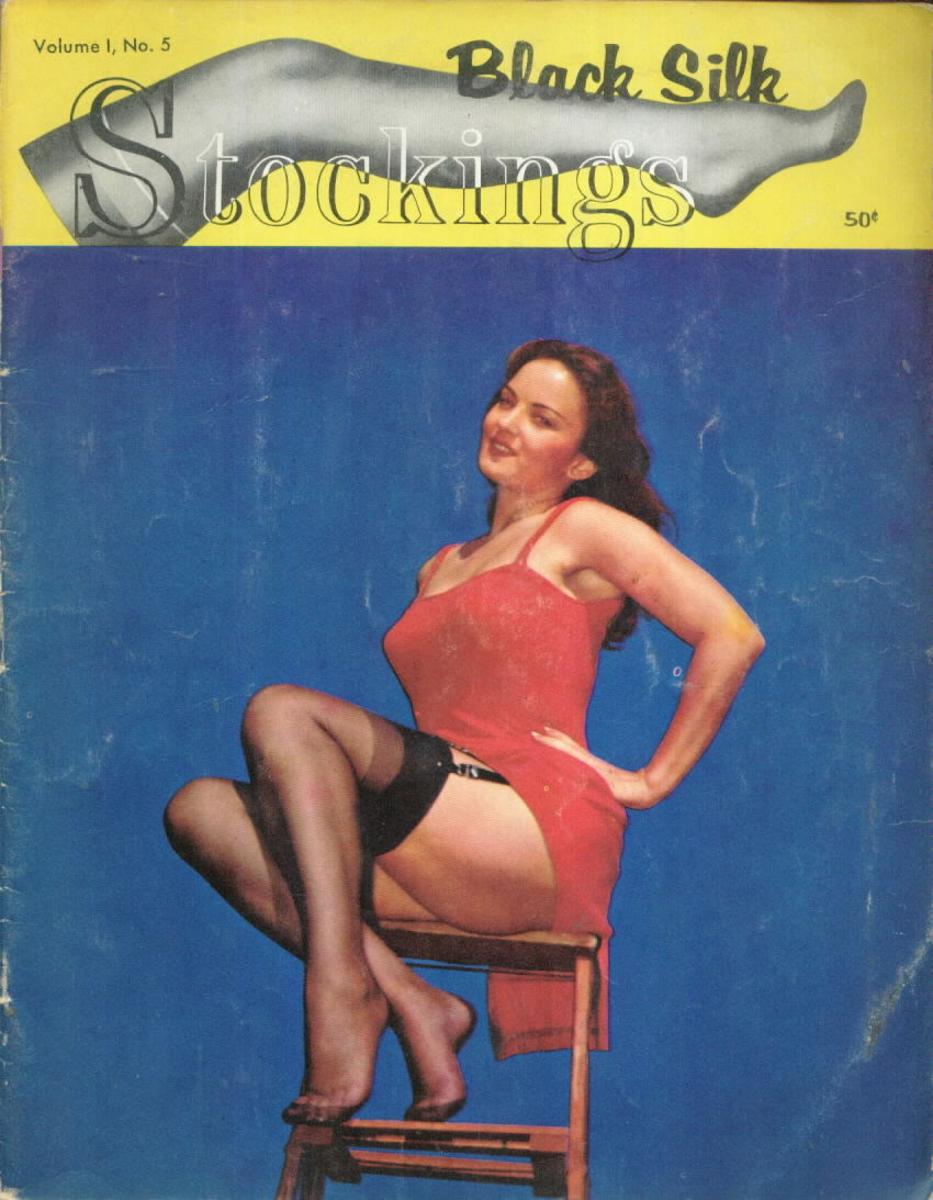 BLACK SILK STOCKINGS 1.5