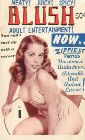 BLUSH Vol. 1 No. 1 circa 1955-1958 with Diane Webber on cover