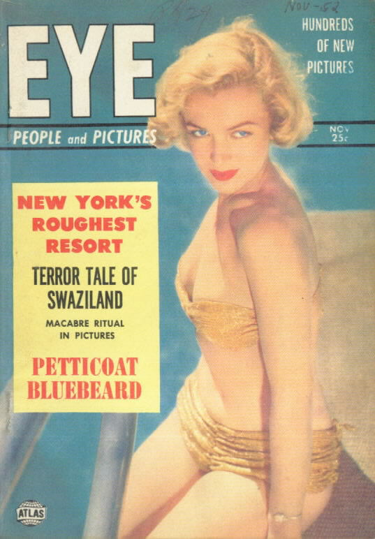 EYE 2.8 with Marilyn Monroe cover