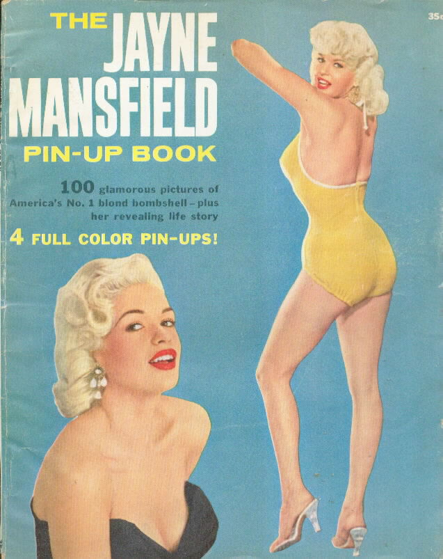 JAYNE MANSFIELD PIN-UP BOOK 1957