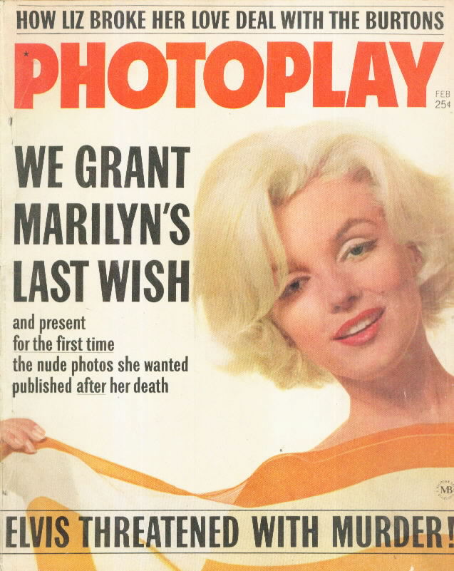 PHOTOPLAY 63.2 with Marilyn Monroe