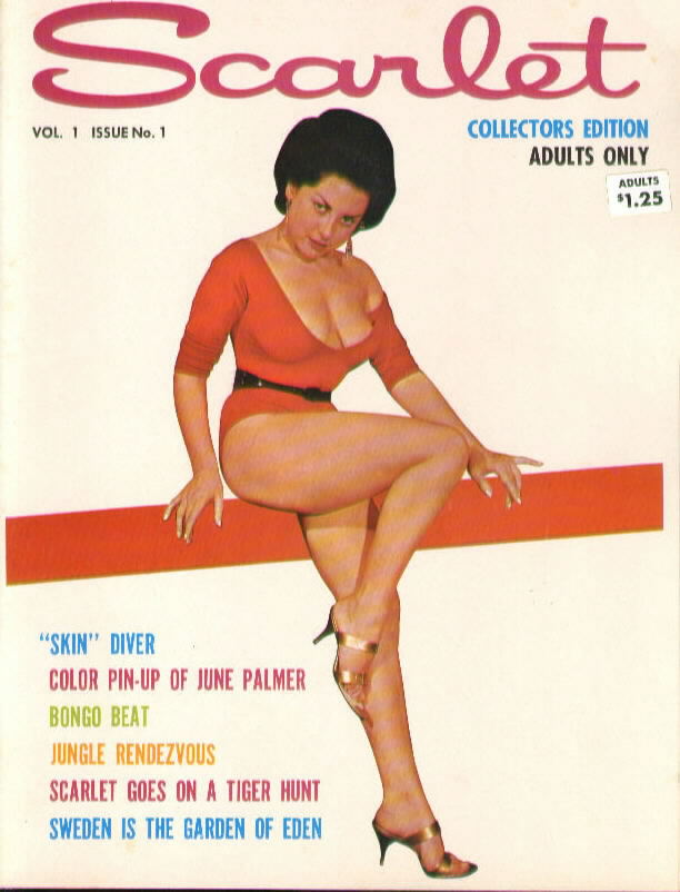 SCARLET 1.1 with June Palmer 1962