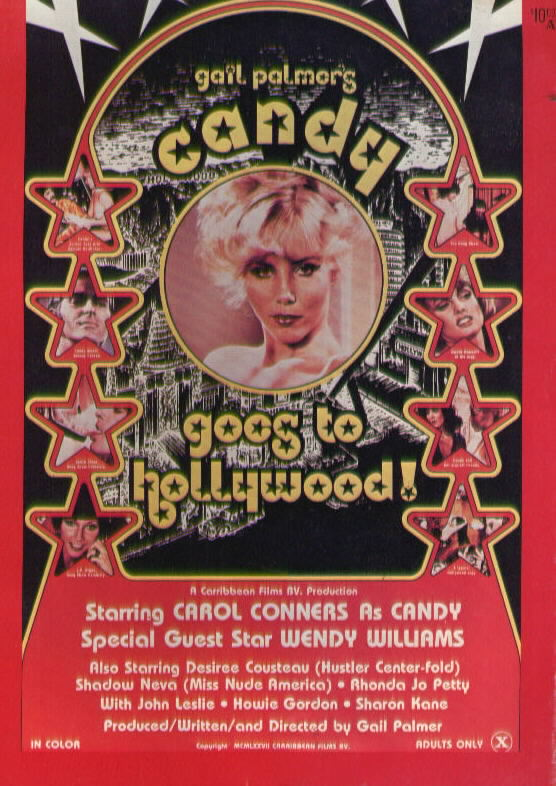 GAIL PALMER'S CANDY GOES TO HOLLYWOOD! Carol Conners Desiree Cousteau (1977)