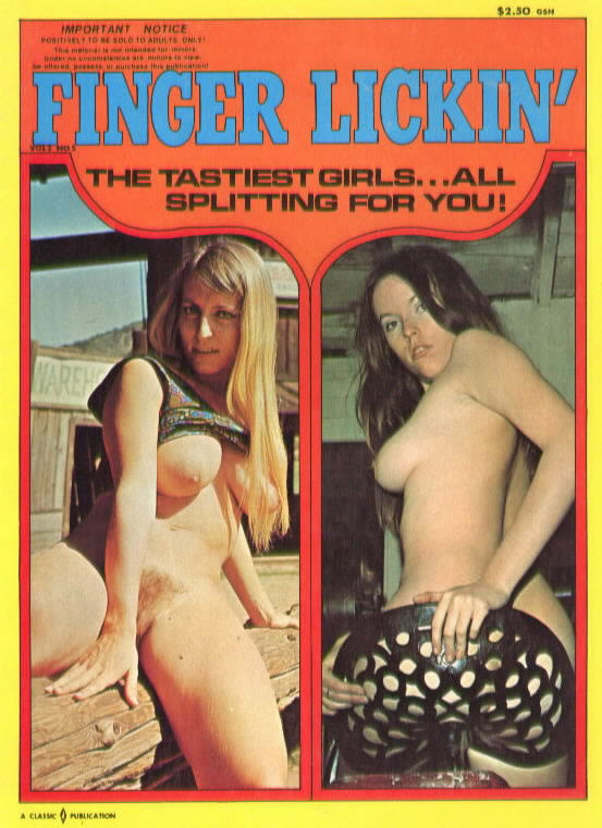 FINGER LICKIN' Classic Publication (1970)
