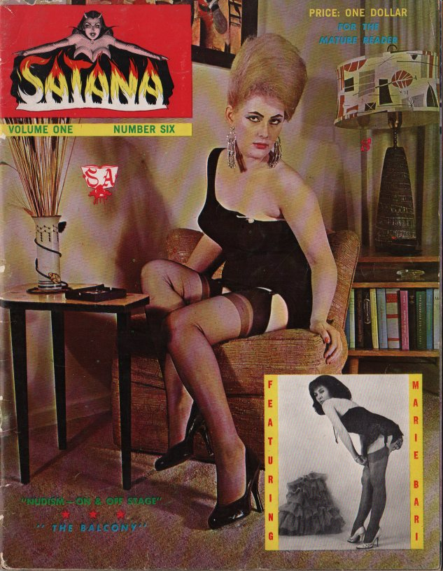 SATANA #6 from Selbee Pubs., NYC Eric Stanton editor