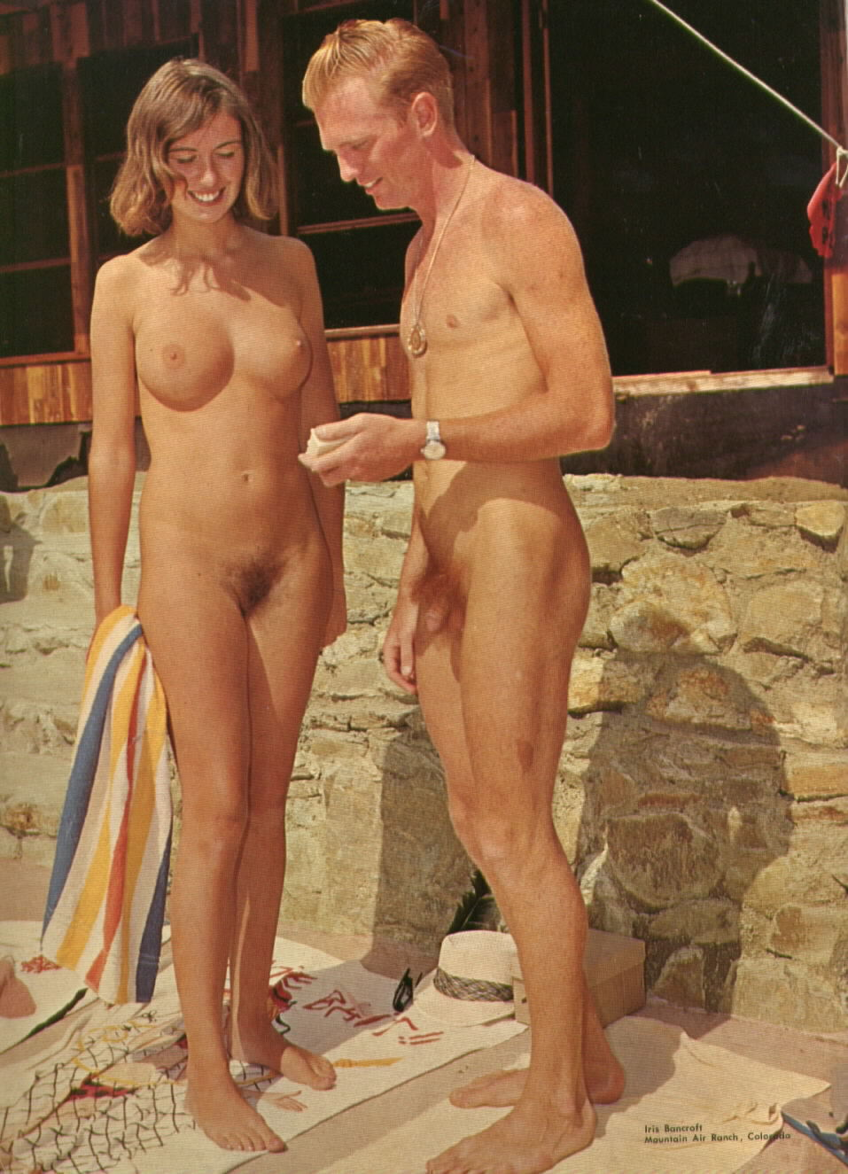 Lick the nudist camp movies
