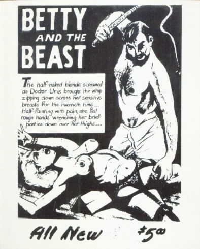 Private BDSM Cards Set of 36 BETTY AND THE BEAST