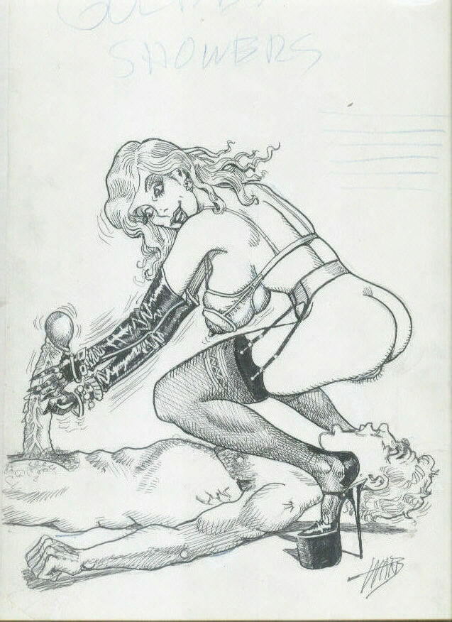Bill Ward XXX Illustration!