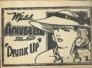 MISS ANNIBELLE in DRINK UP