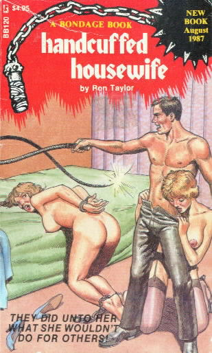 HANDCUFFED HOUSEWIFE  by Ron Taylor