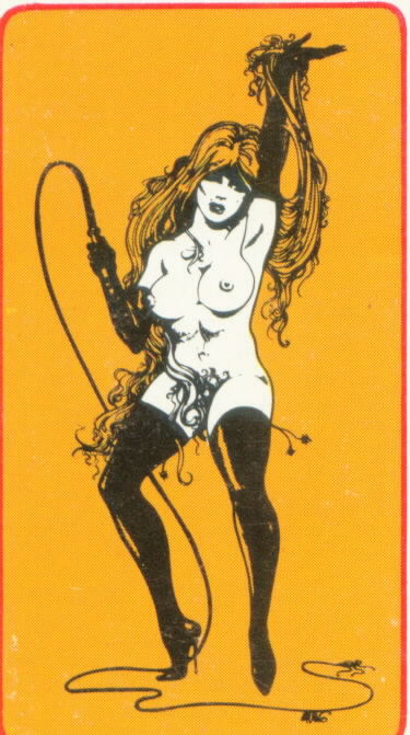 BILBREW BIZARRE BOOKS WHIP DANCER LOGO