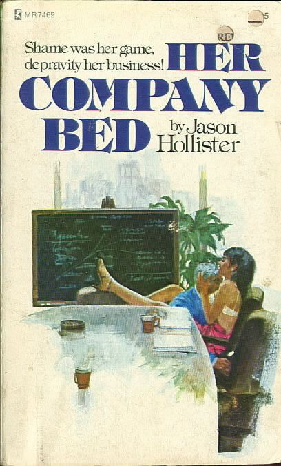 HER COMPANY BED by Jason Hollister