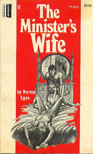 THE MINISTER'S WIFE by Norma Egan