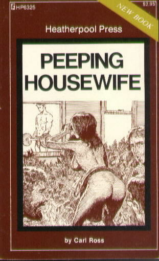 PEEPING HOUSEWIFE by Carl Ross