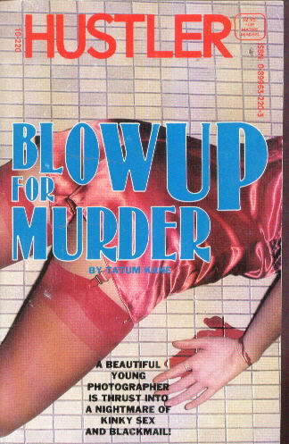 BLOW UP FOR MURDER Tatum Kane