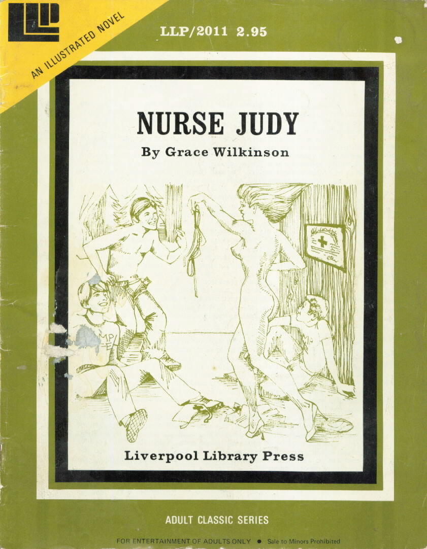 LLP Illustrated Novel 2001 NURSE JUDY Grace Wilkinson