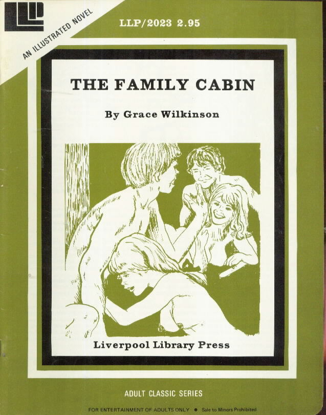LLP Illustrated Novel 2023 THE FAMILY CABIN Grace Wilkinson