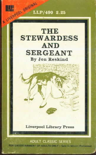 THE STEWARDESS AND SERGEANT by Jon Reskind