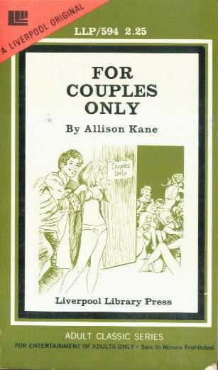 FOR COUPLES ONLY by Allison Kane