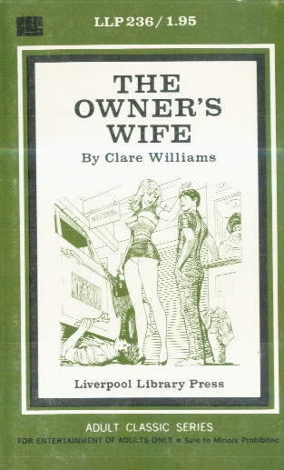 THE OWNER'S WIFE by Clare Williams
