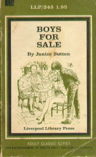 BOYS FOR SALE by Janice Sutton