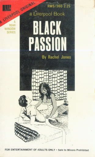 BLACK PASSION by Rachel Jones