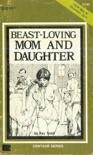 BEAST-LOVING MOM AND DAUGHTER
