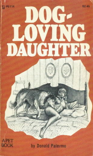 DOG-LOVING DAUGHTER by Donald Palermo