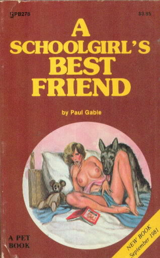 A SCHOOLGIRL'S BEST FRIEND by Paul Gable