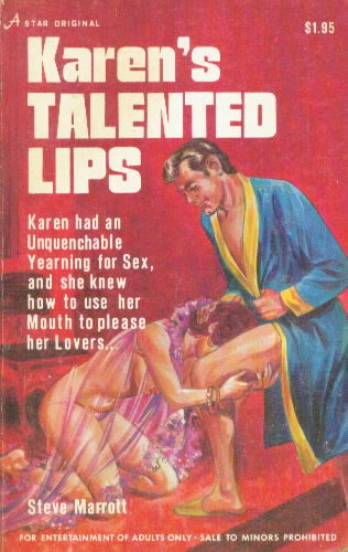 KAREN'S TALENTED LIPS by Steve Marrott