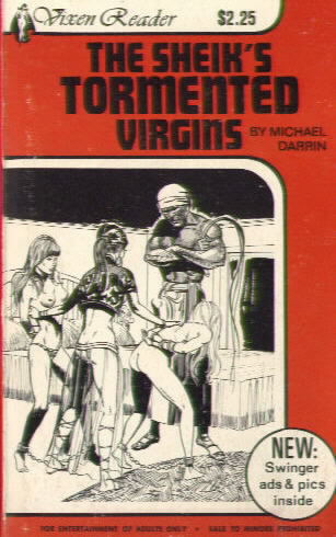 THE SHEIK'S TORMENTED VIRGINS by Michael Darrin