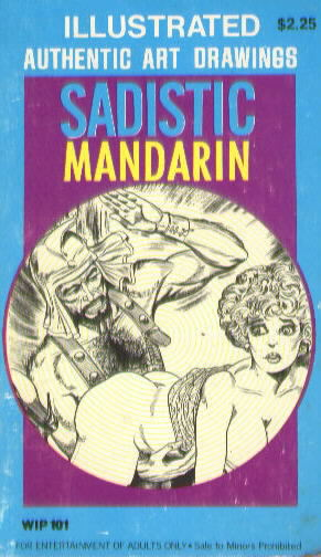 SADISTIC MANDARIN Cover illustrated by Gene Bilbrew