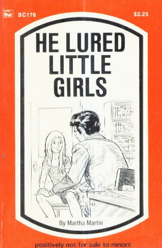 HE LURED... GIRLS by Martha Martin