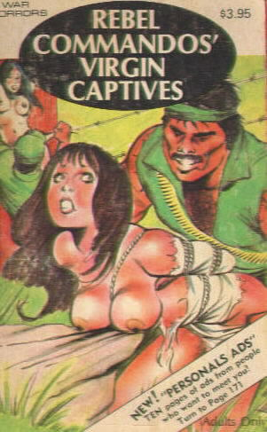 REBEL COMMANDO'S VIRGIN CAPTIVES