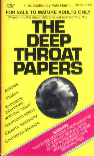 THE DEEP THROAT PAPERS Intro by Pete Hamill (1973)