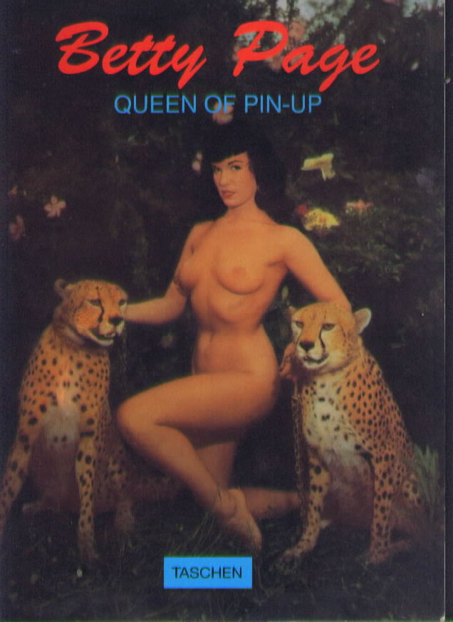 Taschen Books BETTY PAGE QUEEN OF THE PIN-UP 1993