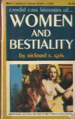 WOMEN AND BESTIALITY by Richard E. Geis