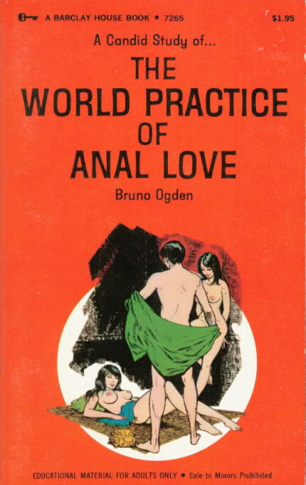 THE WORLD PRACTICE OF ANAL LOVE