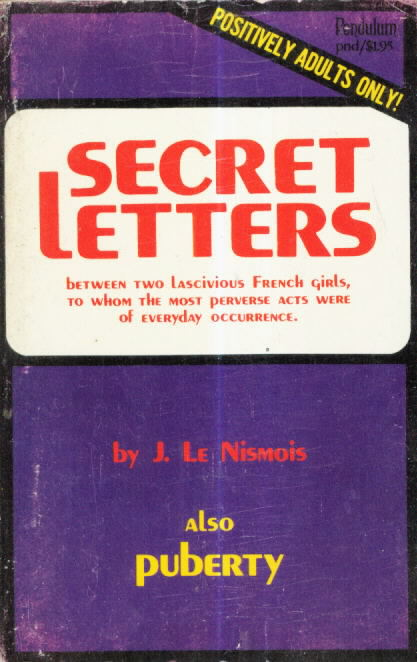 071 SECRET LETTERS / PUBERTY by J. Le Nismois