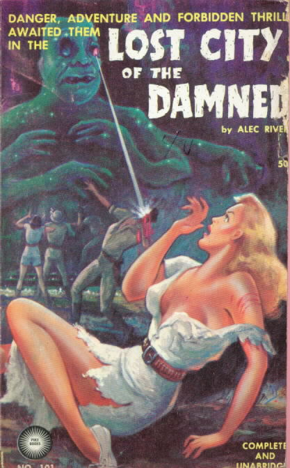 Pike Books 101 LOST CITY OF THE DAMNED